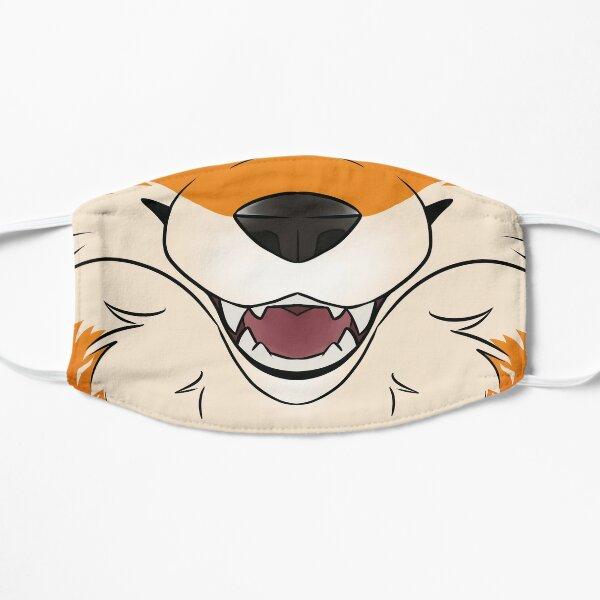 Red Fox Maw Flat Mask