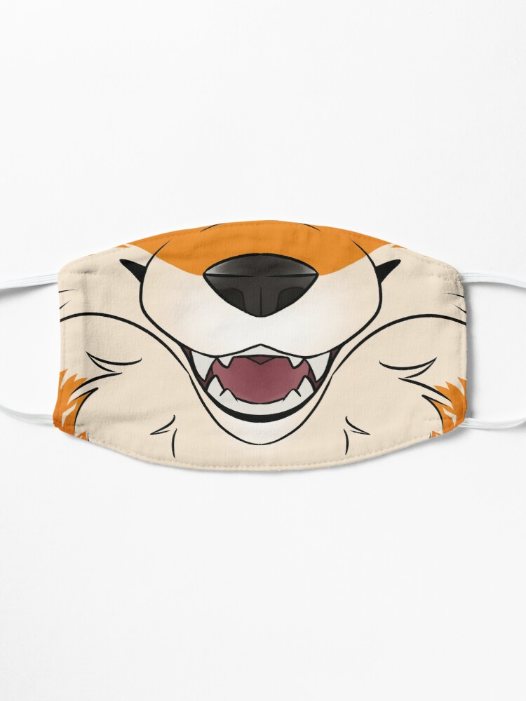 Alternate view of Red Fox Maw Mask
