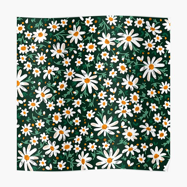 Camomile Flower Poster