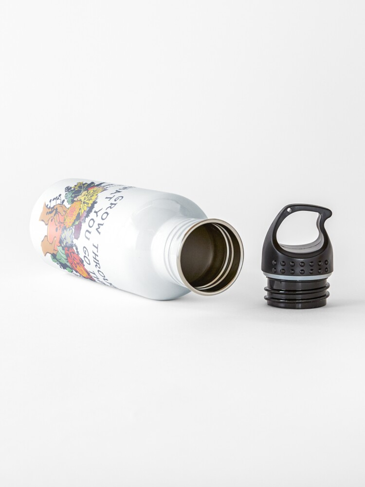 Alternate view of Grow Through What You Go Through Water Bottle