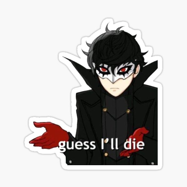 Joker when he tricked the traitor Sticker