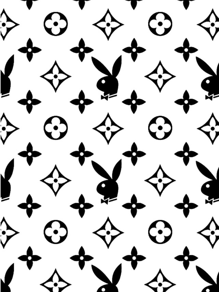 playboy logo black and white by isabelta0ero