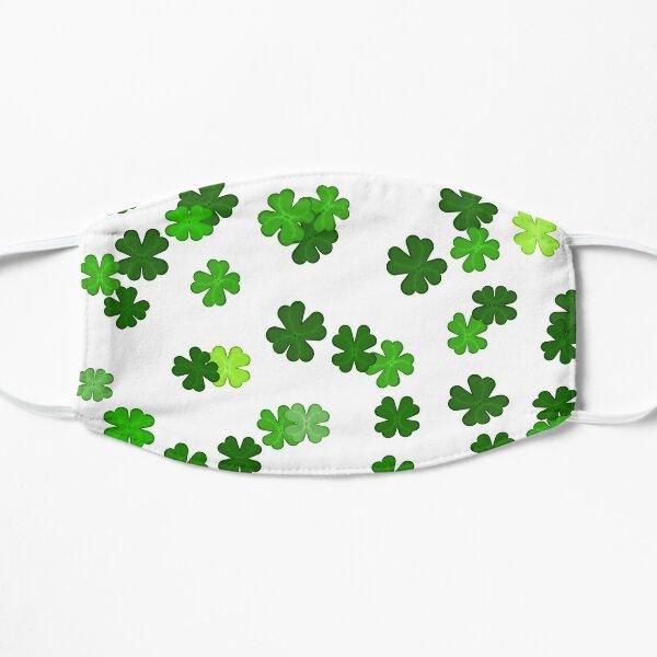 Shamrocks Falling - Pattern for Saint Patricks Day Mask