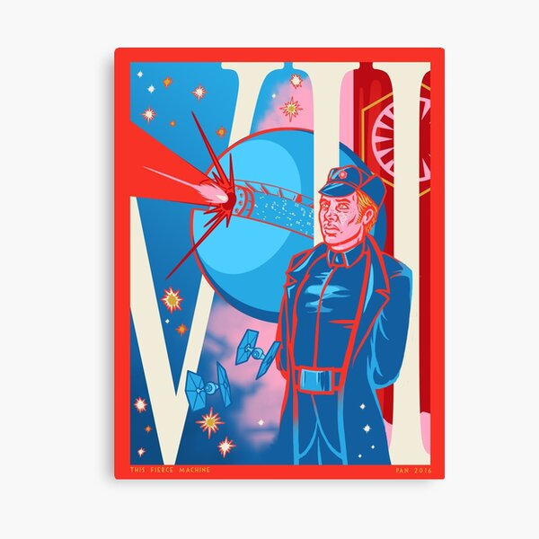 Hux-This Fierce Machine Canvas Print