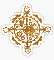 Westward - Compass Logo Sticker