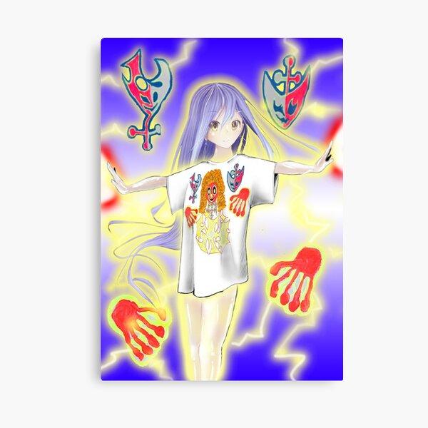 Exeter Drain Gang Manga Canvas Print