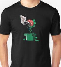 Piranha Bites The Bullet (Black Shirt Only) Unisex T-Shirt