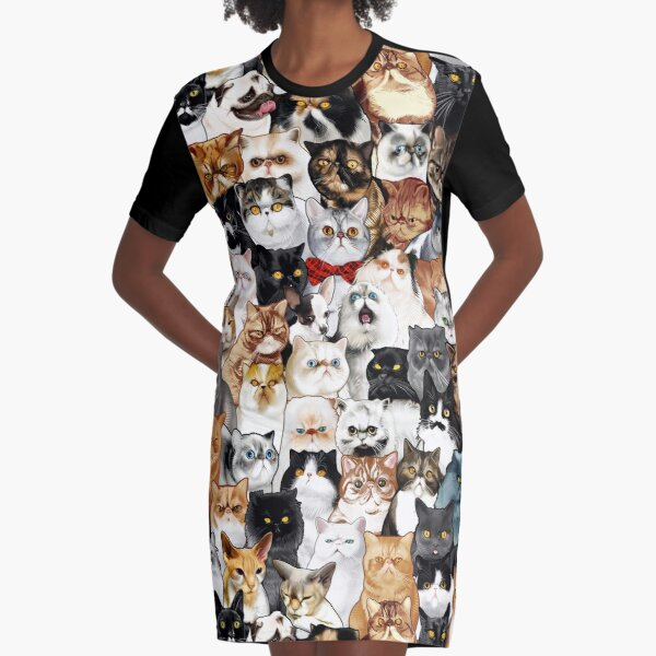 #Catminaproject by Jimiyo Graphic T-Shirt Dress