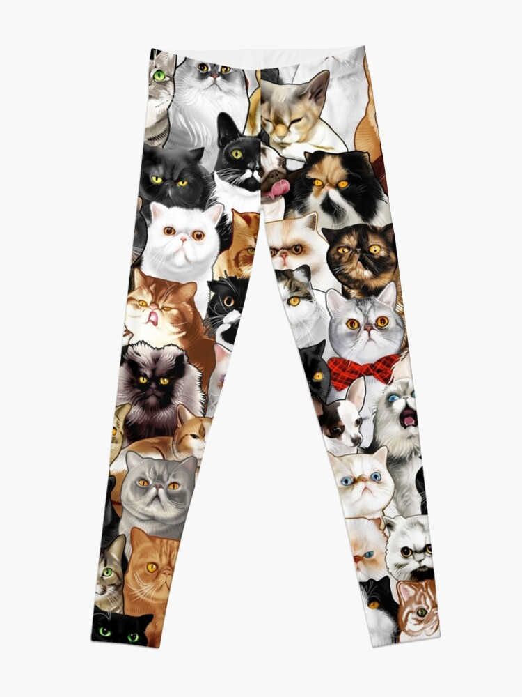 Alternate view of #Catminaproject by Jimiyo Leggings
