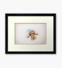 Danbo Snow Angel Framed Print