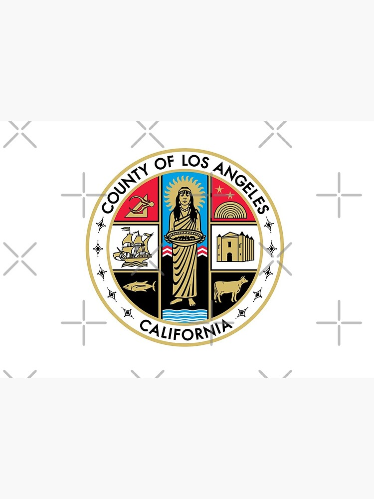 Seal of Los Angeles County, California by Vloo77