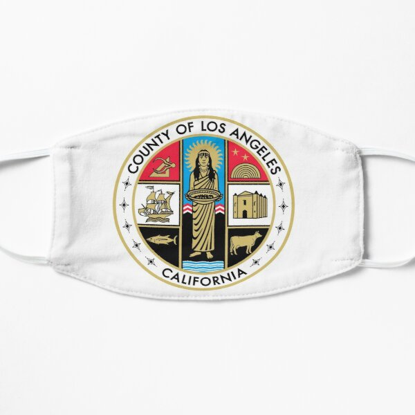 Seal of Los Angeles County, California Mask