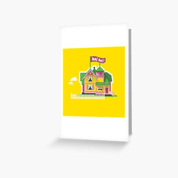 Hey Hey Villa Villekulla Greeting Card