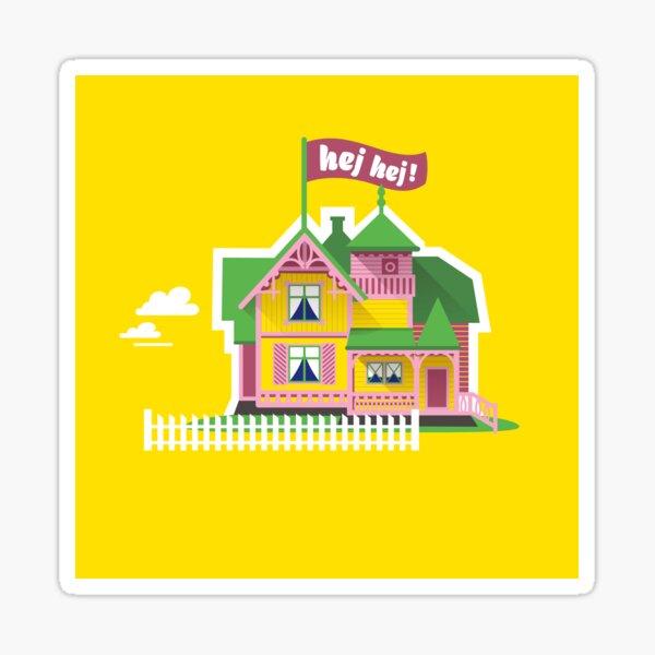 Hey Hey Villa Villekulla Sticker