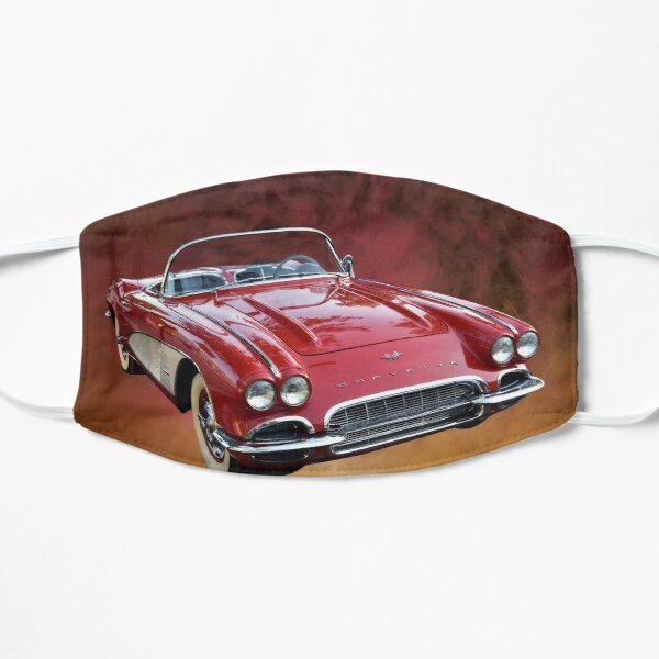 1961 Red Corvette Convertible Mask