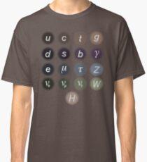 Camiseta clásica Modelo estándar de física