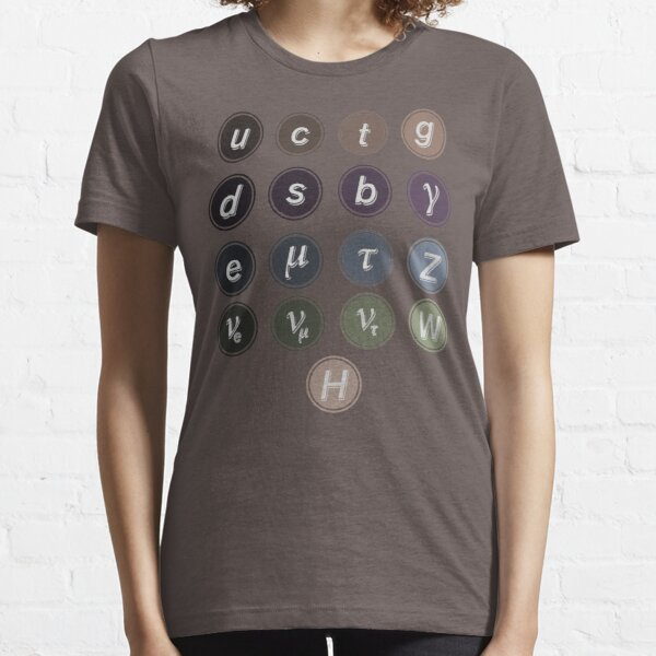 Physics Standard Model Essential T-Shirt