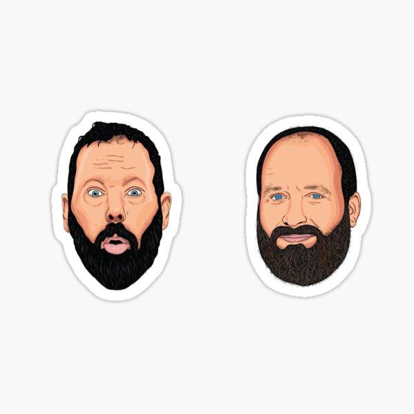 Bert and Tom Sticker Pack Sticker