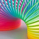 Rainbow Slinky by Steve Purnell