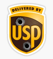 Counter-Strike: Global Offensive - Delivered By USP (Official) Sticker