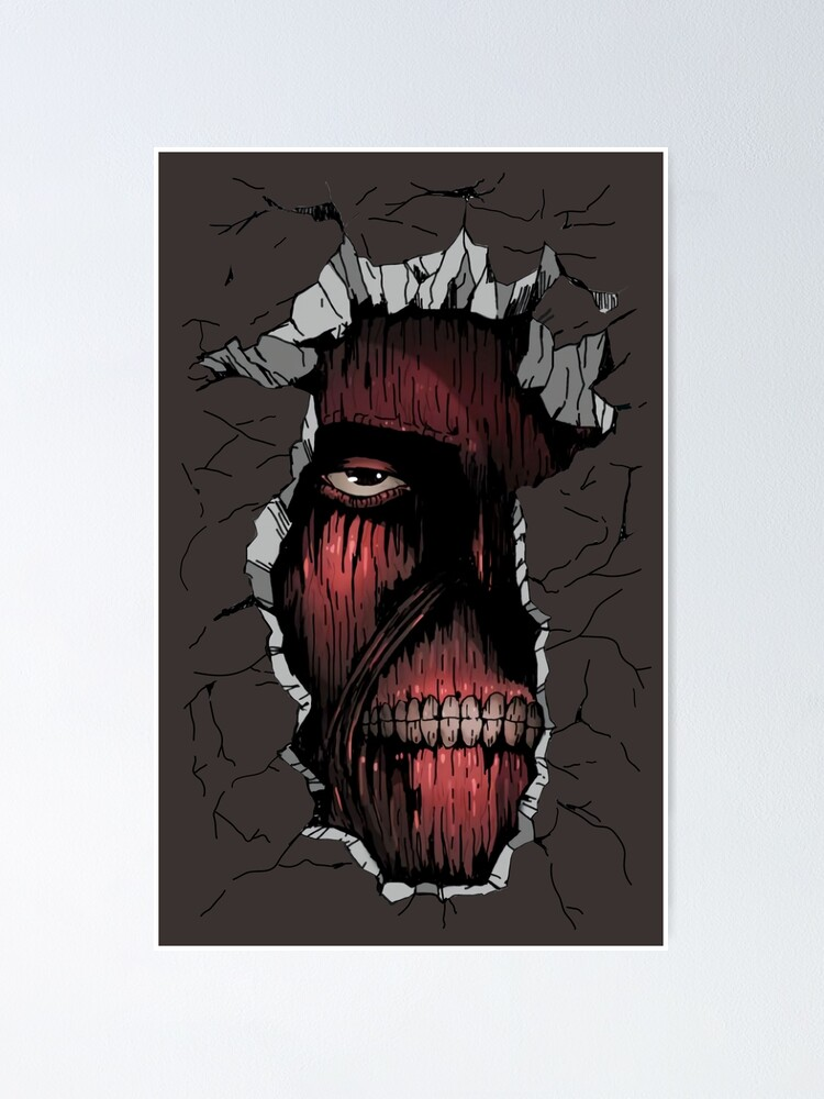 Alternate view of Attack on Titan: The Titan inside the Wall Poster