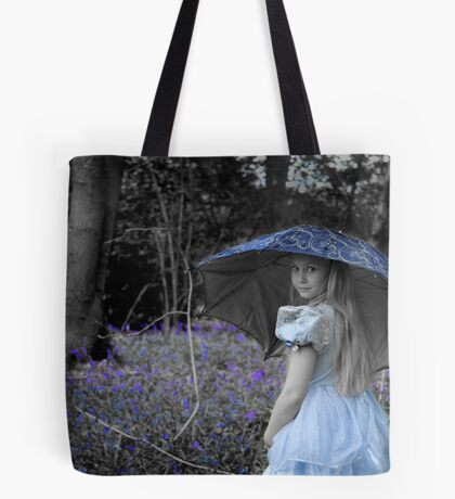 Blue Belle Tote Bag