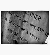 Pioneer Cemetery Poster