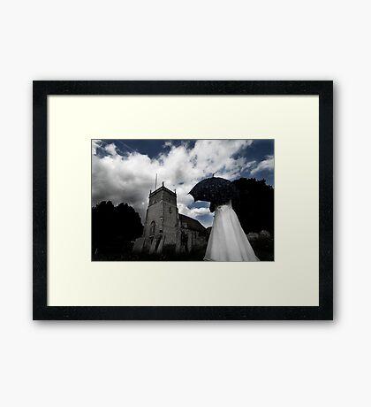 April Showers Framed Print