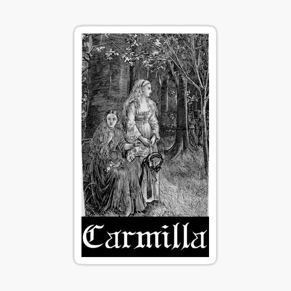Carmilla - queen of the vampires Sticker