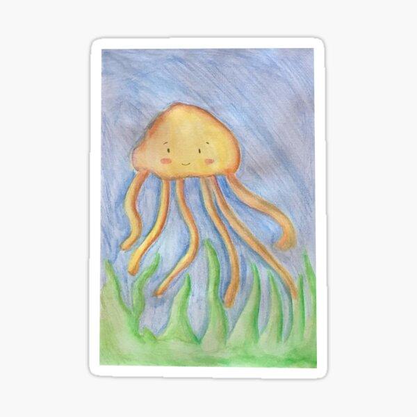 Jelly Fish 1 Sticker
