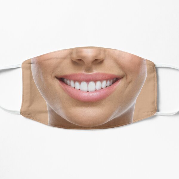 Mask Your Smile With A Smile Flat Mask