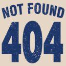 Team shirt - 404 Not Found, blue by JRon