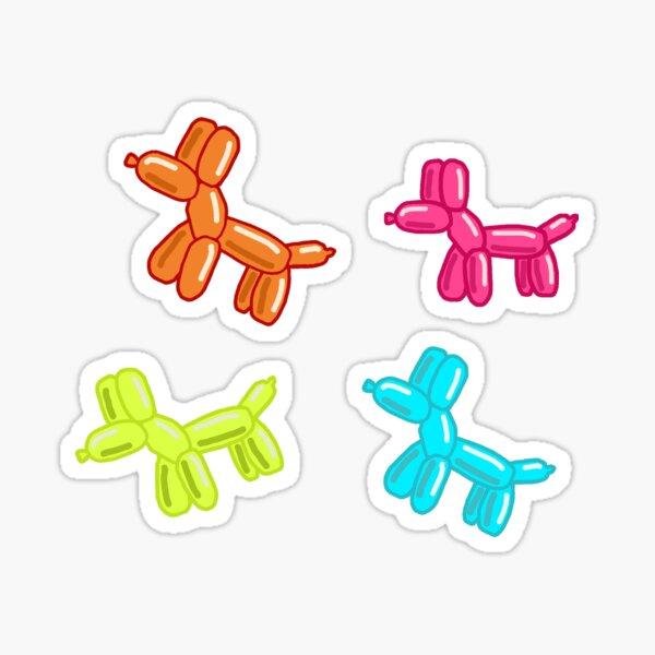 neon balloon dog pack (sticker pack)  Sticker