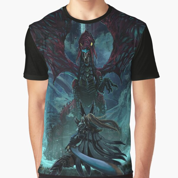 Death Lurks in the Light of the Darkness [Monster Hunter] Graphic T-Shirt
