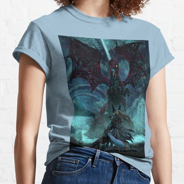 Death Lurks in the Light of the Darkness [Monster Hunter] Classic T-Shirt