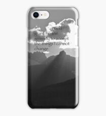Serenity Prayer iPhone Case/Skin