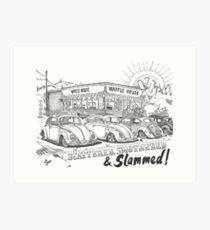 Scattered, Smothered & Slammed Art Print