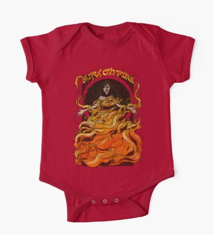 Girl on Fire Kids Clothes