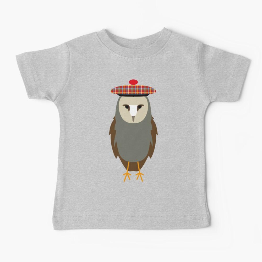 NDVH Owl Wearing a Tam o'Shanter Baby T-Shirt
