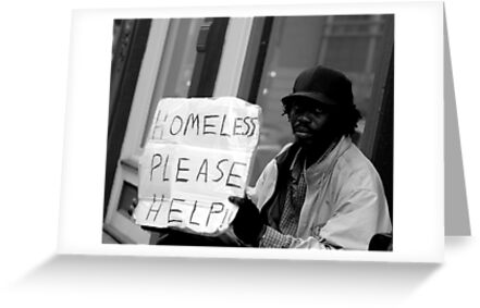 Homeless on the Street by Phil Campus