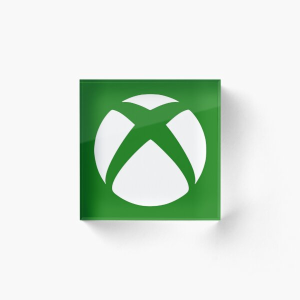 Xbox logo Acrylic Block