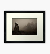old dead tree  Framed Print