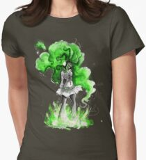 Rainbow Punk: Malachite Bassdrop Womens Fitted T-Shirt