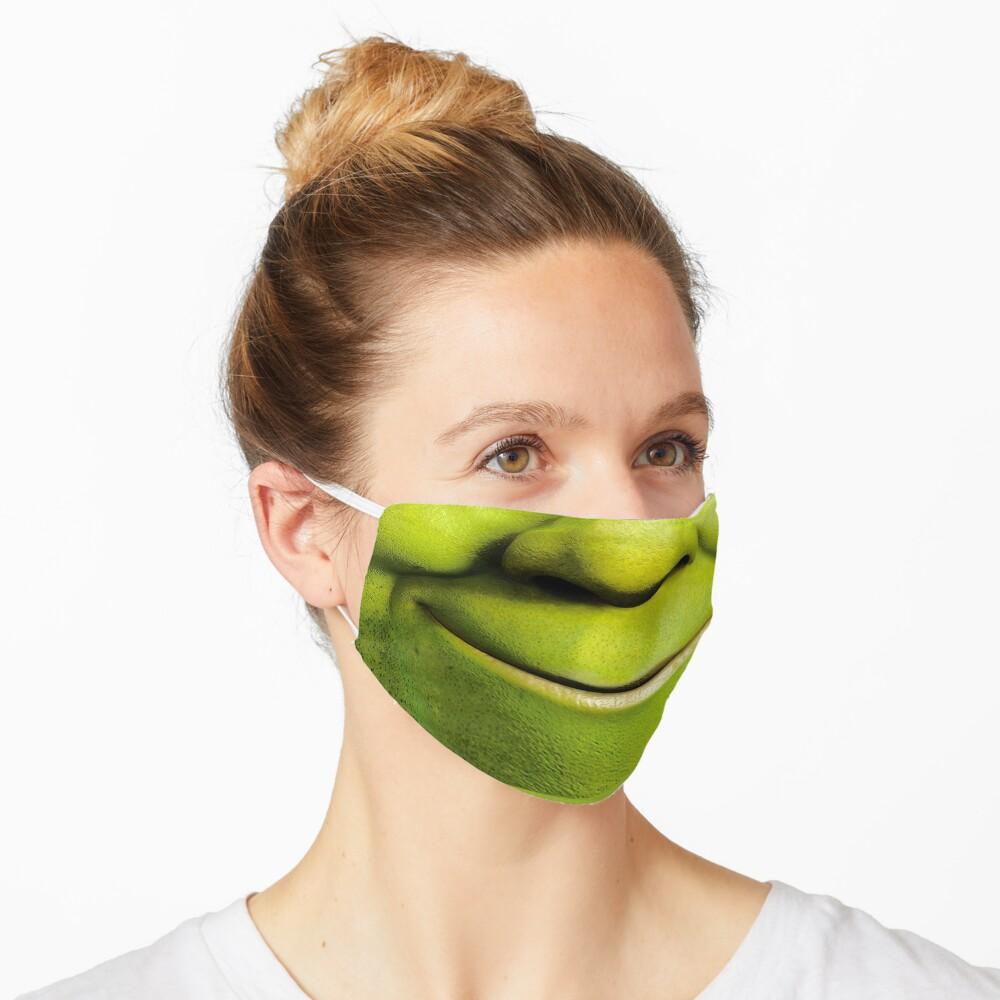 Máscara Shrek Mascarilla