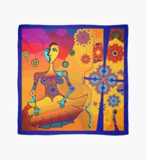 Girl With Kaleidoscope Eyes Scarf