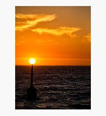 Balanced Sunset? Photographic Print