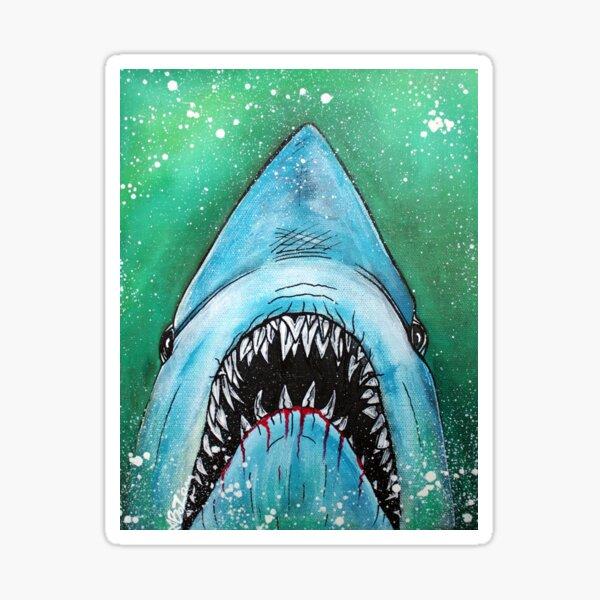 Spawn of Jaws Sticker