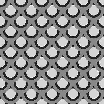 Monochrome Circles by JNathan