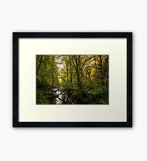 Creeks #5453232 Framed Print