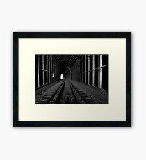 Black Canyon Train Tunnel Framed Print